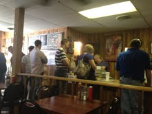 Tight quarters, long lines but good food at the old location.